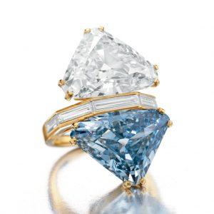 Regalia - Bulgari Two-Stone Diamond